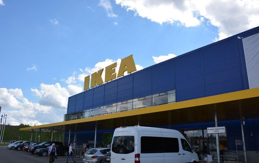 ритейл Ikea открыла в вильнюсе свой первый магазин тенденции